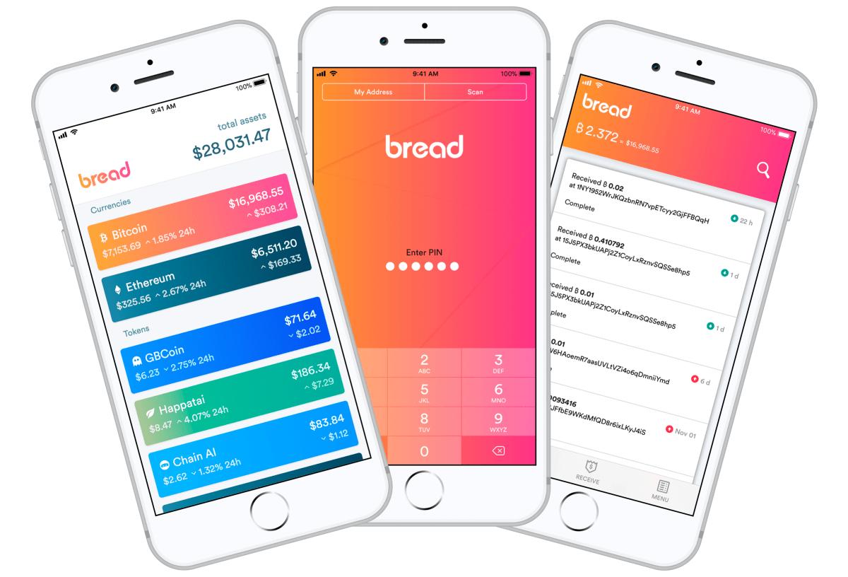 Bread Wallet Bitcoin App
