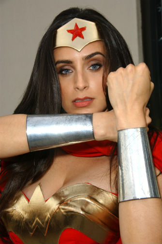 Valerie Perez Does Wonder Woman