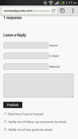 Growmap AntiSpam and WPTouch Mobile don't play well together in Chrome