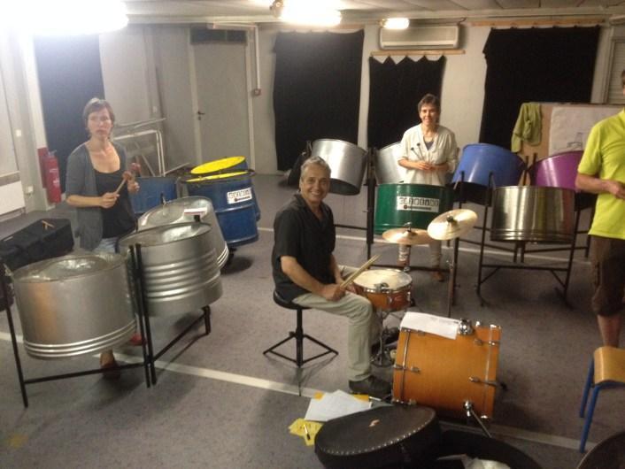 Steel drum 7 animés
