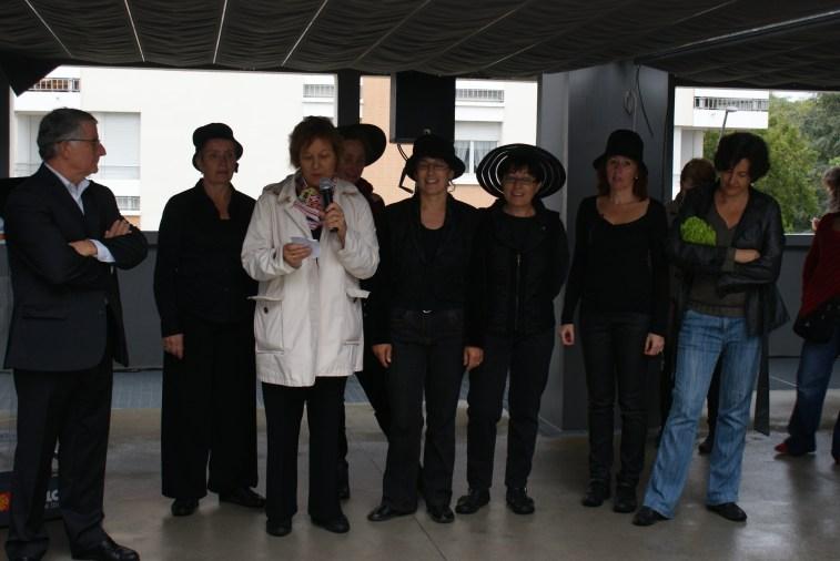Inauguration marché 7 animés