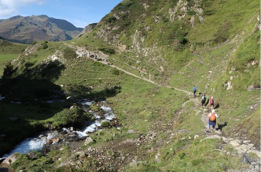 La descente est parfois plus compliquée que la montée !!!