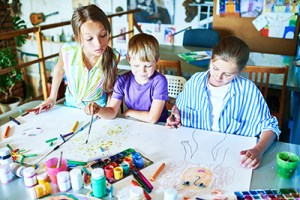 Kids Drawing Classes with Vanessa @ 7arts