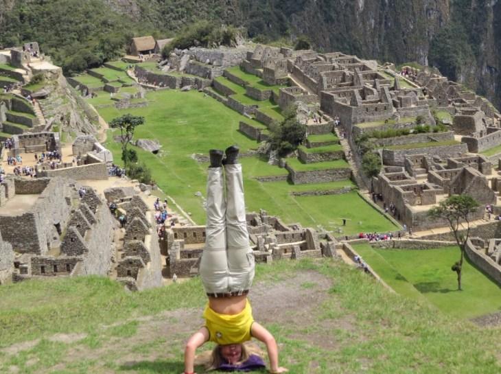 Machu Picchu sob outra perspectiva