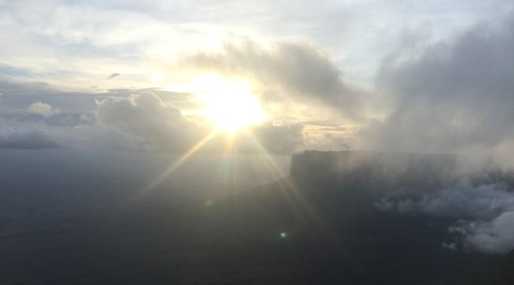 Monte Roraima - Mirante do acampamento Guácharo
