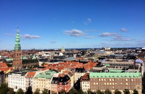 Vista da torre do Parlamento