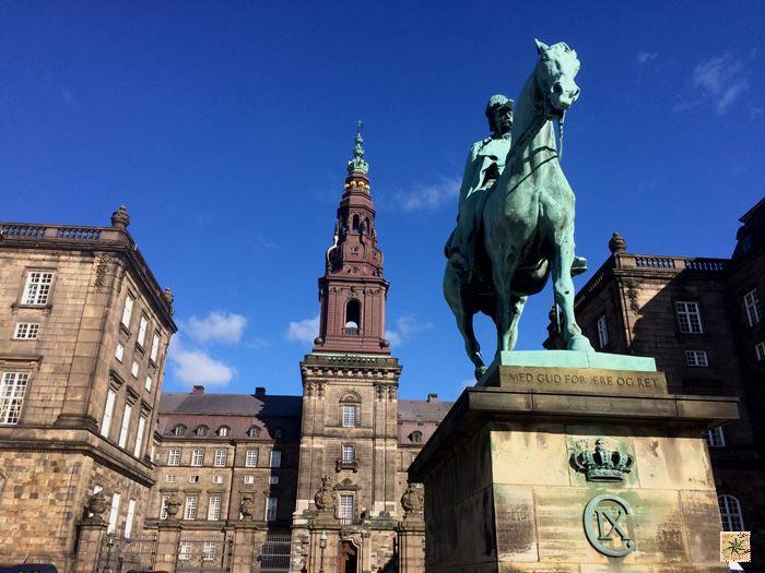 Palácio de Christiansborg - Copenhague - Dinamarca - 7 Cantos do Mundo