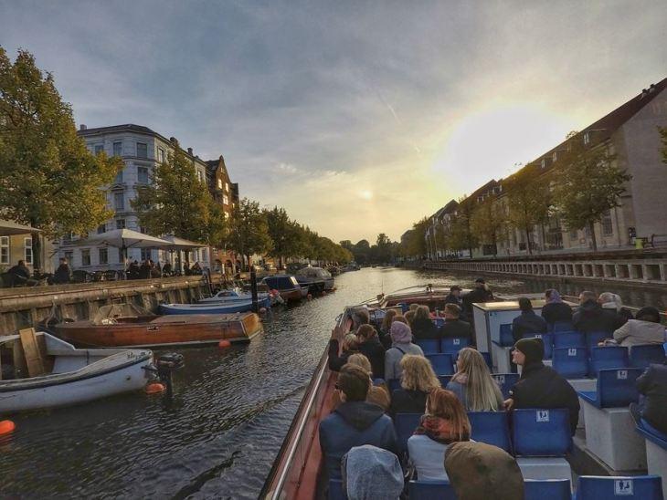 Passeio de barco em Copenhague - Dinamarca - 7 Cantos do Mundo
