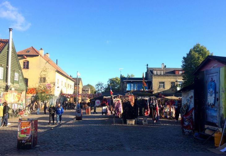 O que fazer em Copenhague - Christiania - Copenhague - Dinamarca - 7 Cantos do Mundo