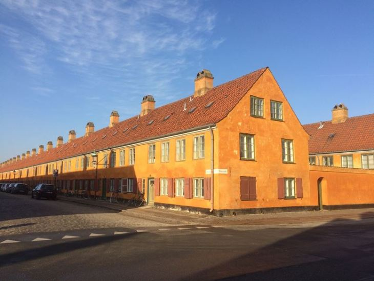 O que fazer em Copenhague - Nyboder - Copenhague - Dinamarca - 7 Cantos do Mundo