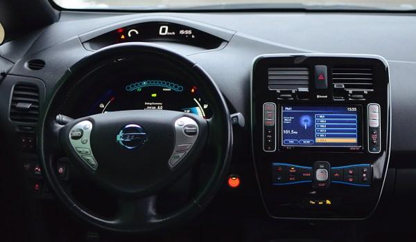 Nissan Leaf SV, Electro 100% - 1