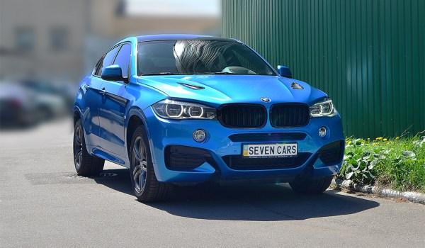 BMW X6 M50d diesel