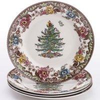 Christmas Tree Dinner Plates | Christmas
