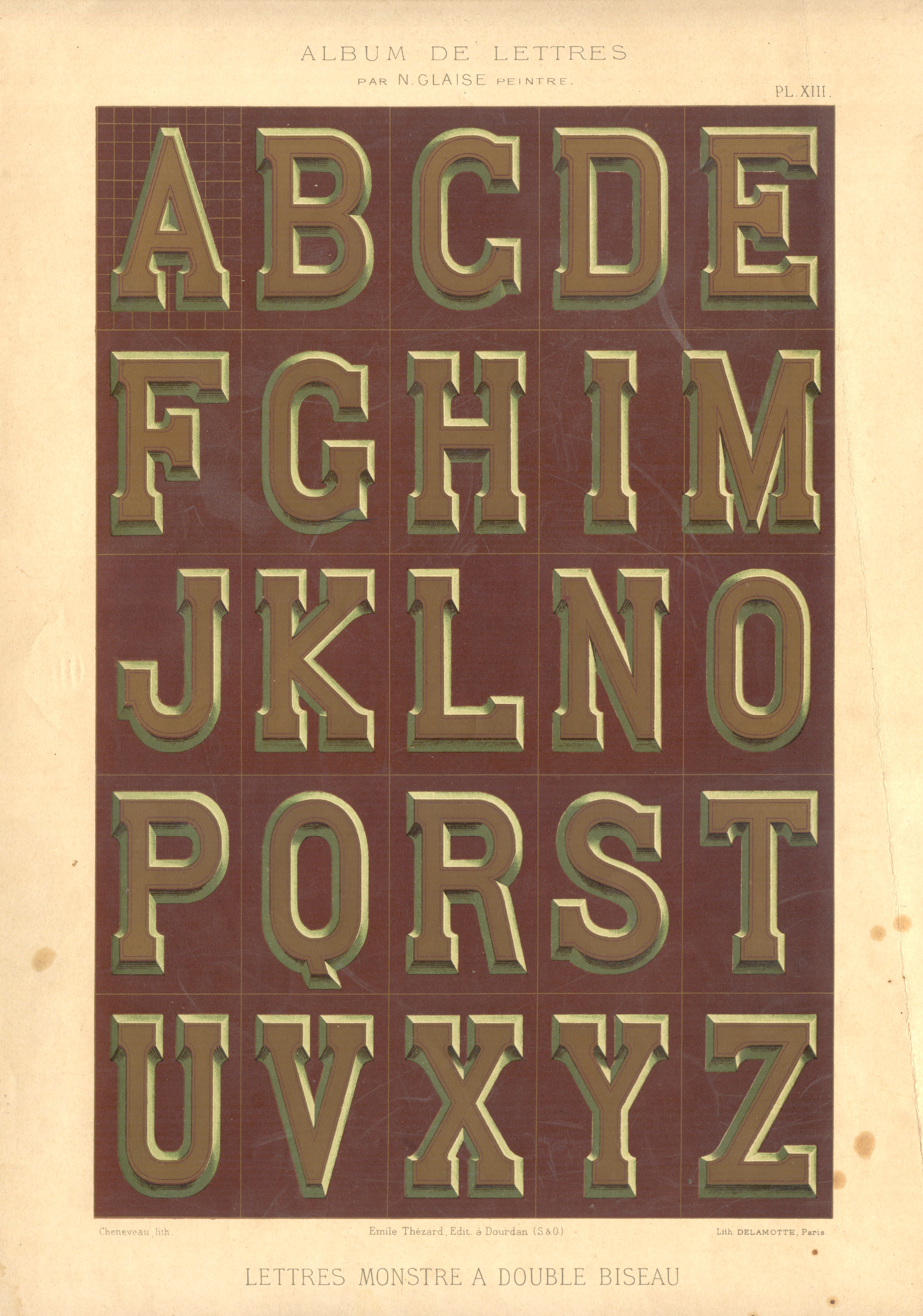 Resources for Artists Vintage Typography  Collage Fodder and Drawing References  elusivemuse