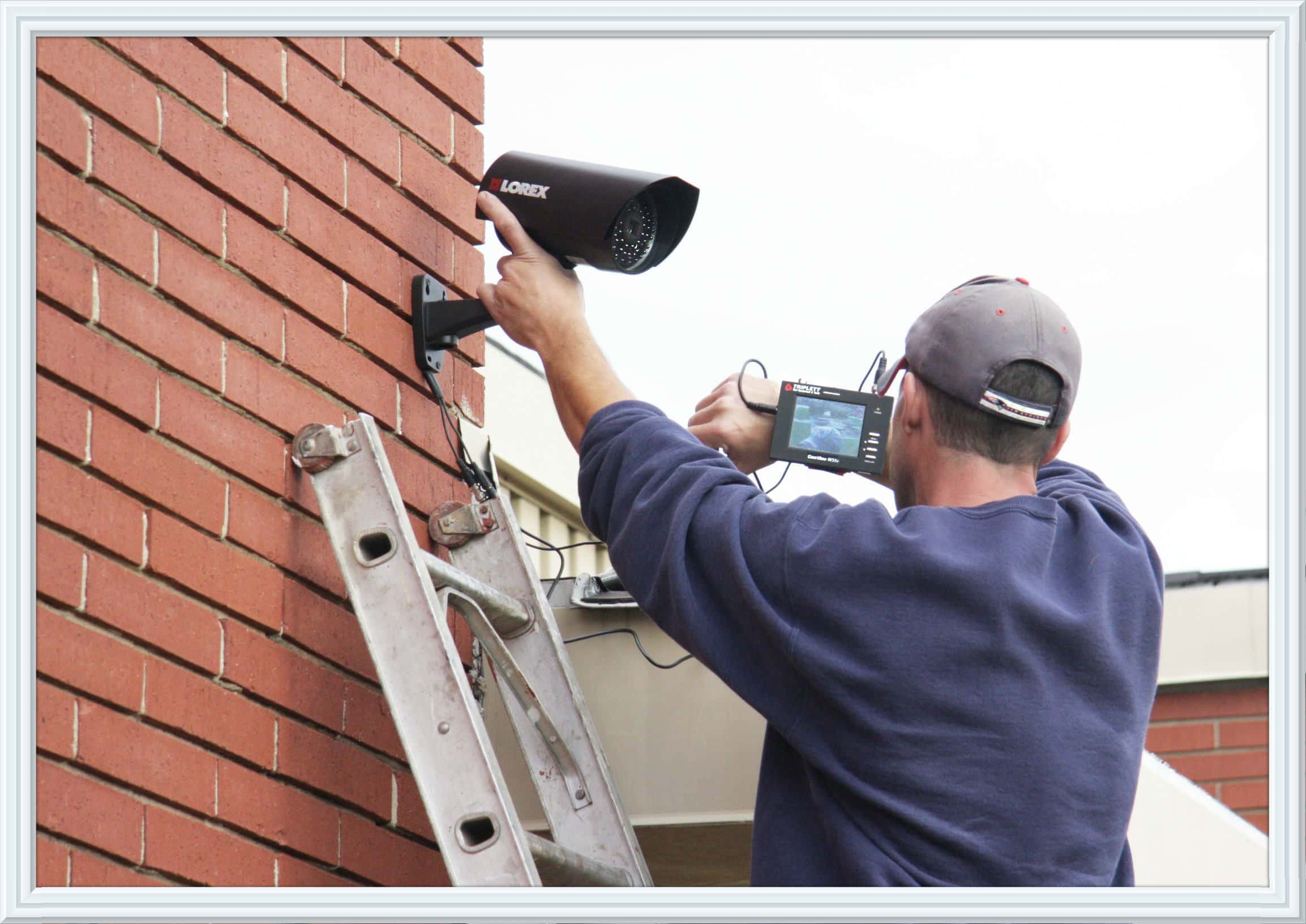 security camera installation how to make electrical wiring diagrams cameras 7 day locksmith