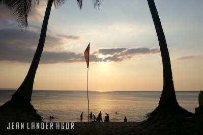 Pagudpud approximately an hour away from Laoag boasts of white sands and amazing sunset views.