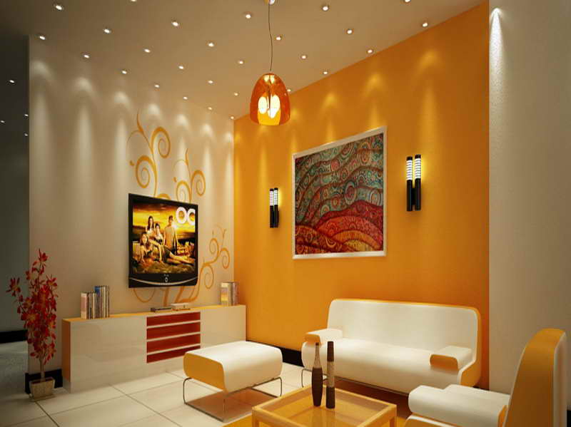 Yellow Paint Color For Living Room. White Paint Color For Home Interior 4  Ideas Part 40