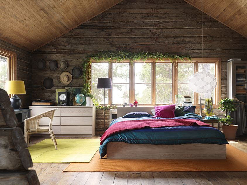 Bedroom Design Idea For Wooden House 4 Home Ideas