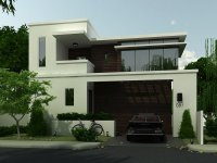 Simple Modern House Architecture With Minimalist Design ...