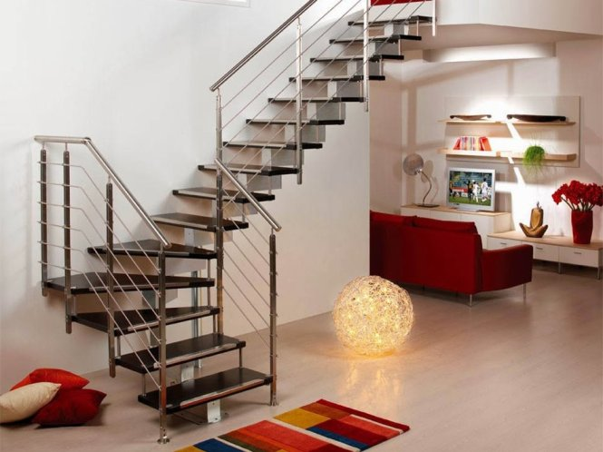 Staircase Modern House Staircase Gallery - Suspended style floating staircase ideas for the contemporary home