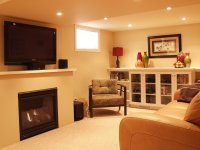 Small Basement Living Room Decorating Tips - 4 Home Ideas
