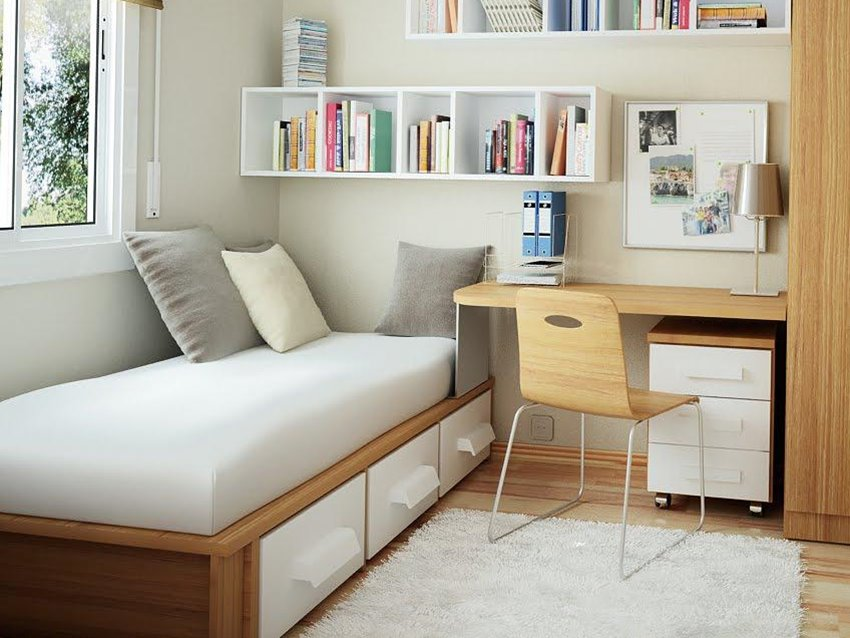 Bedroom For Kids With Small Desk  2019 Ideas