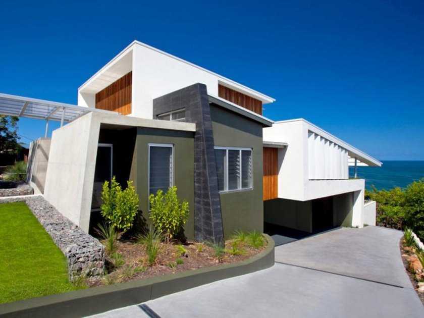 Simple Modern House Architecture With Minimalist Style