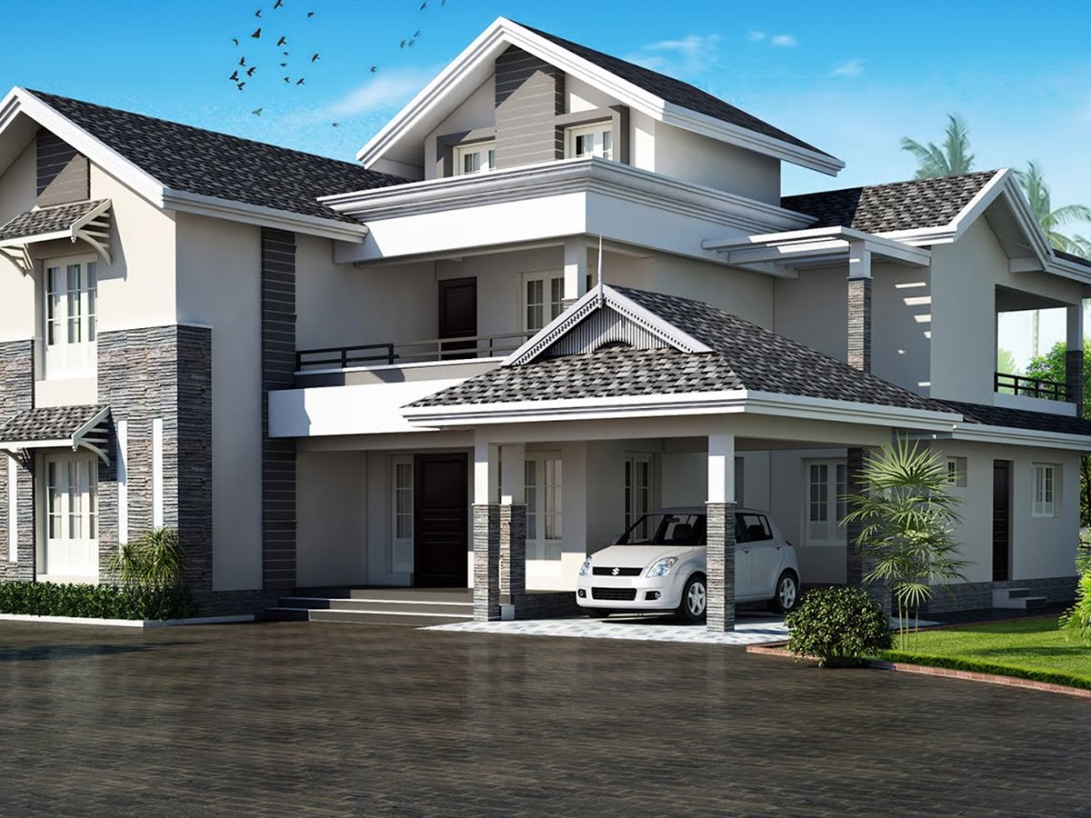 Tips To Choose Roof Design For Modern House 4 Home Ideas