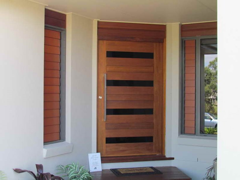 Minimalist Door Design For Simple Modern House