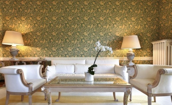 Luxury Living Room Wallpaper Decoration 4 Home Ideas