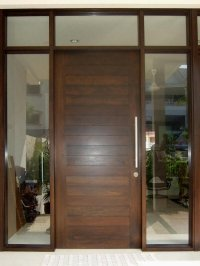Modern Wooden Front Door Designs For Houses