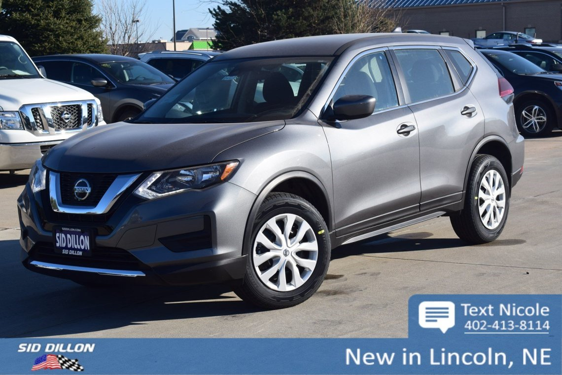new 2019 nissan rogue s suv in lincoln #4n1953 | sid dillon auto group