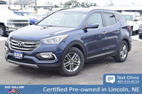 Certified Pre Owned 2017 Hyundai Santa Fe Sport 2 4l