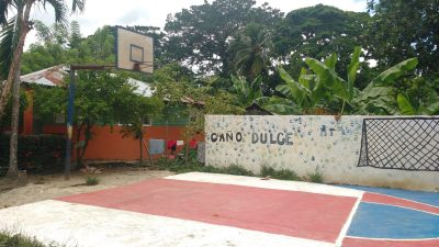 Basketball Court, Cano Dulce, 2018