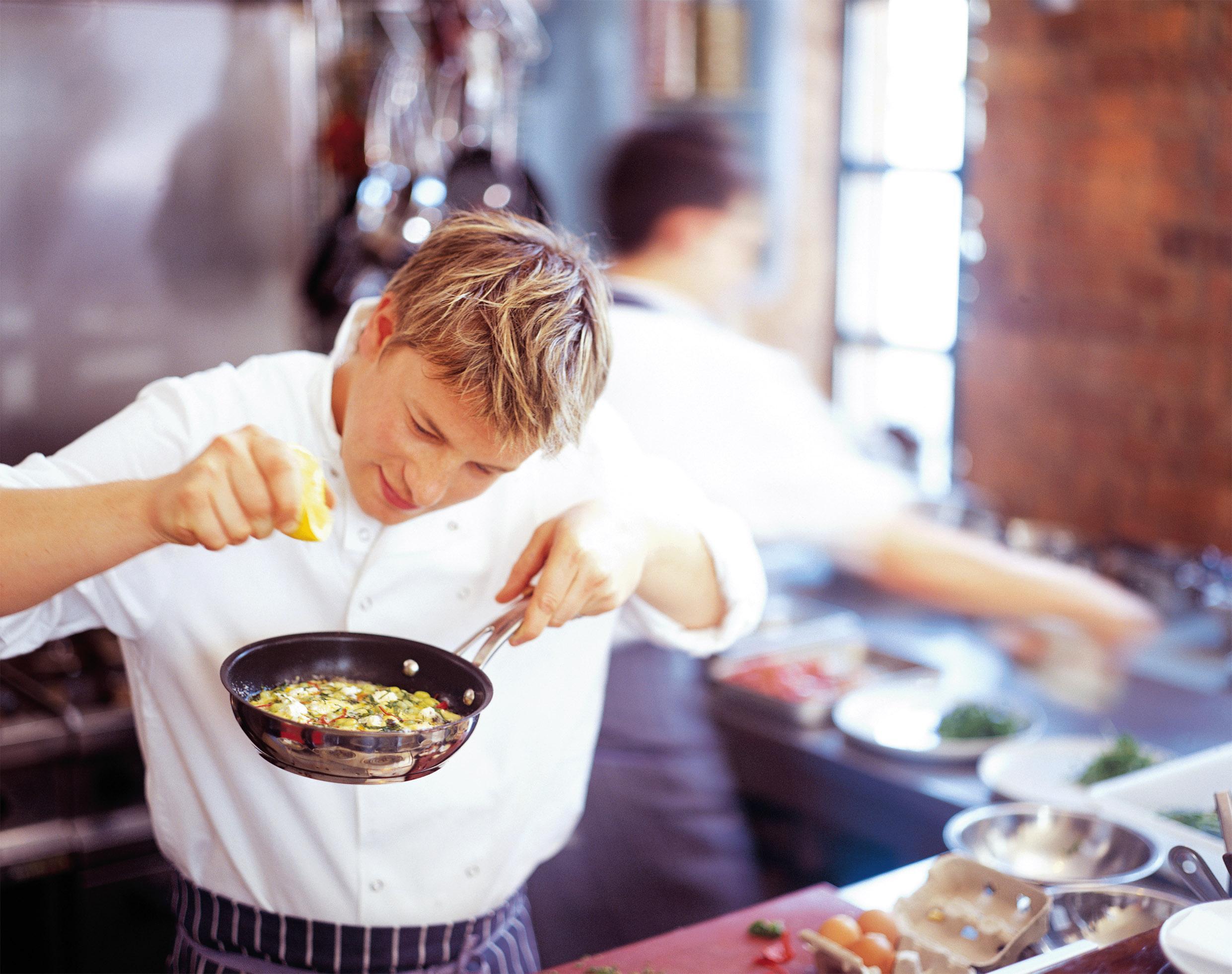 Gastronomia O dia a dia de um chef de cozinha  7 em 1