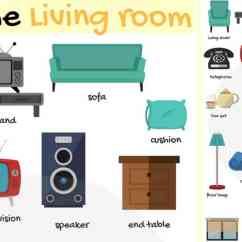 Chair Parts Names Stackable Conference Chairs In The Living Room Vocabulary | Of Objects - 7 E S L