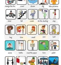 Action Verbs: List of 50 Common Action Verbs with Pictures • 7ESL [ 4379 x 2997 Pixel ]