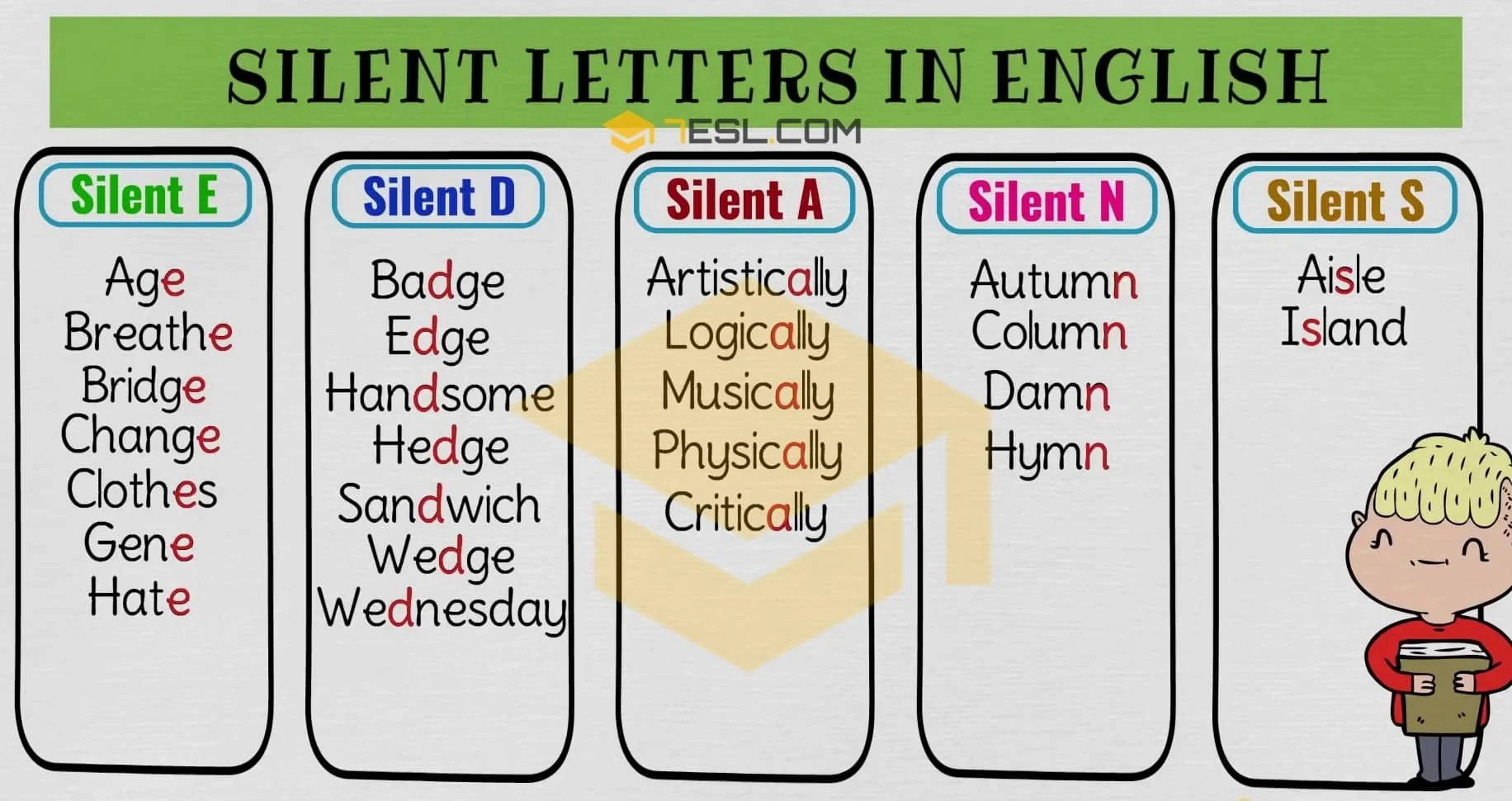 Silent Letters Worksheets