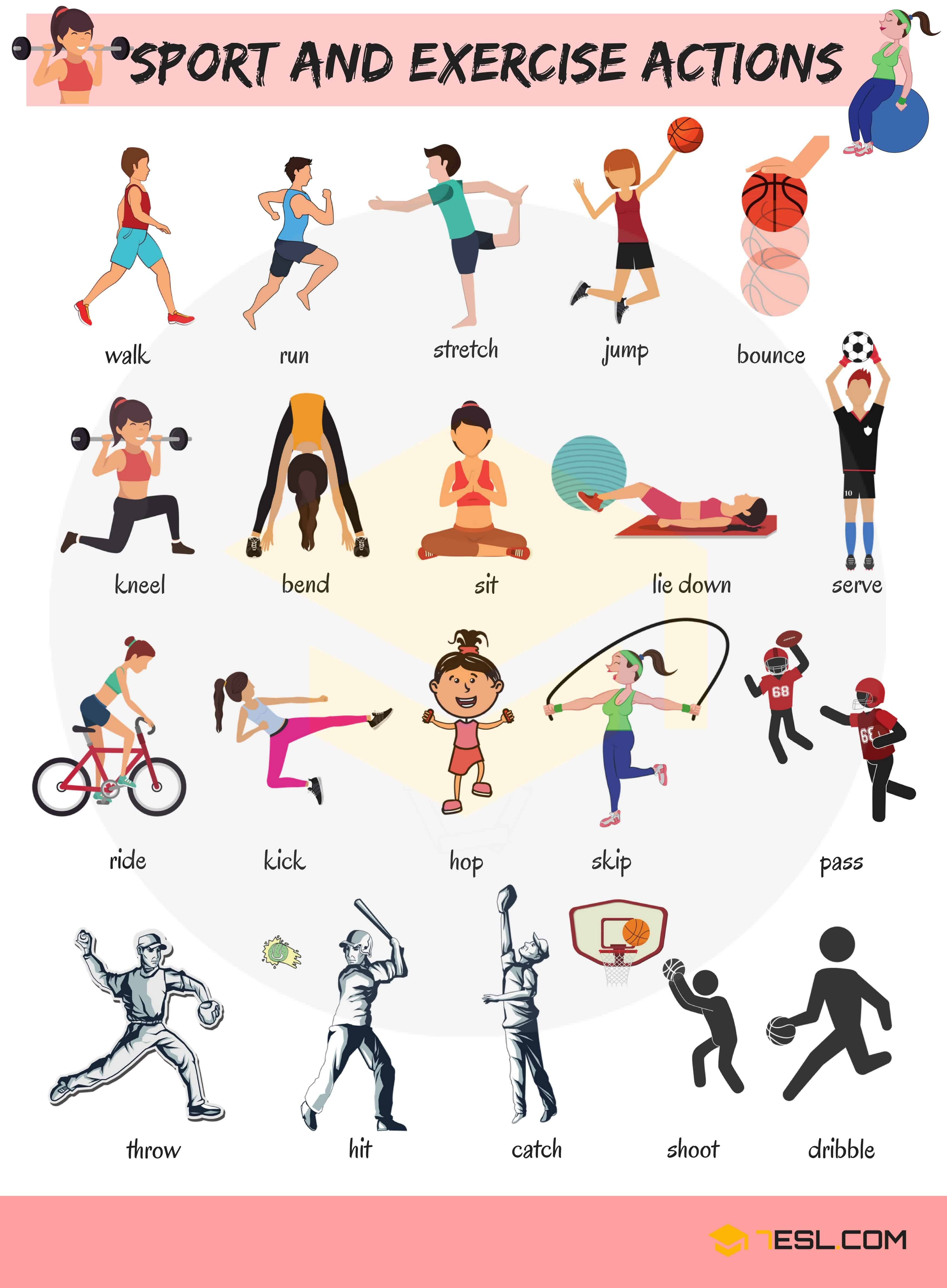 Sport And Exercise Actions