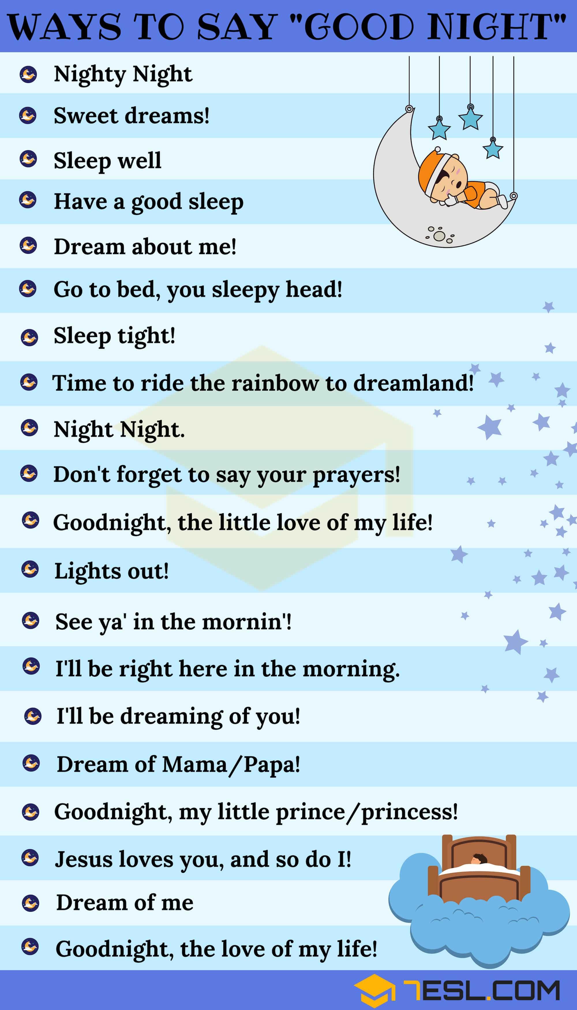 Funny Ways To Say Goodnight : funny, goodnight,