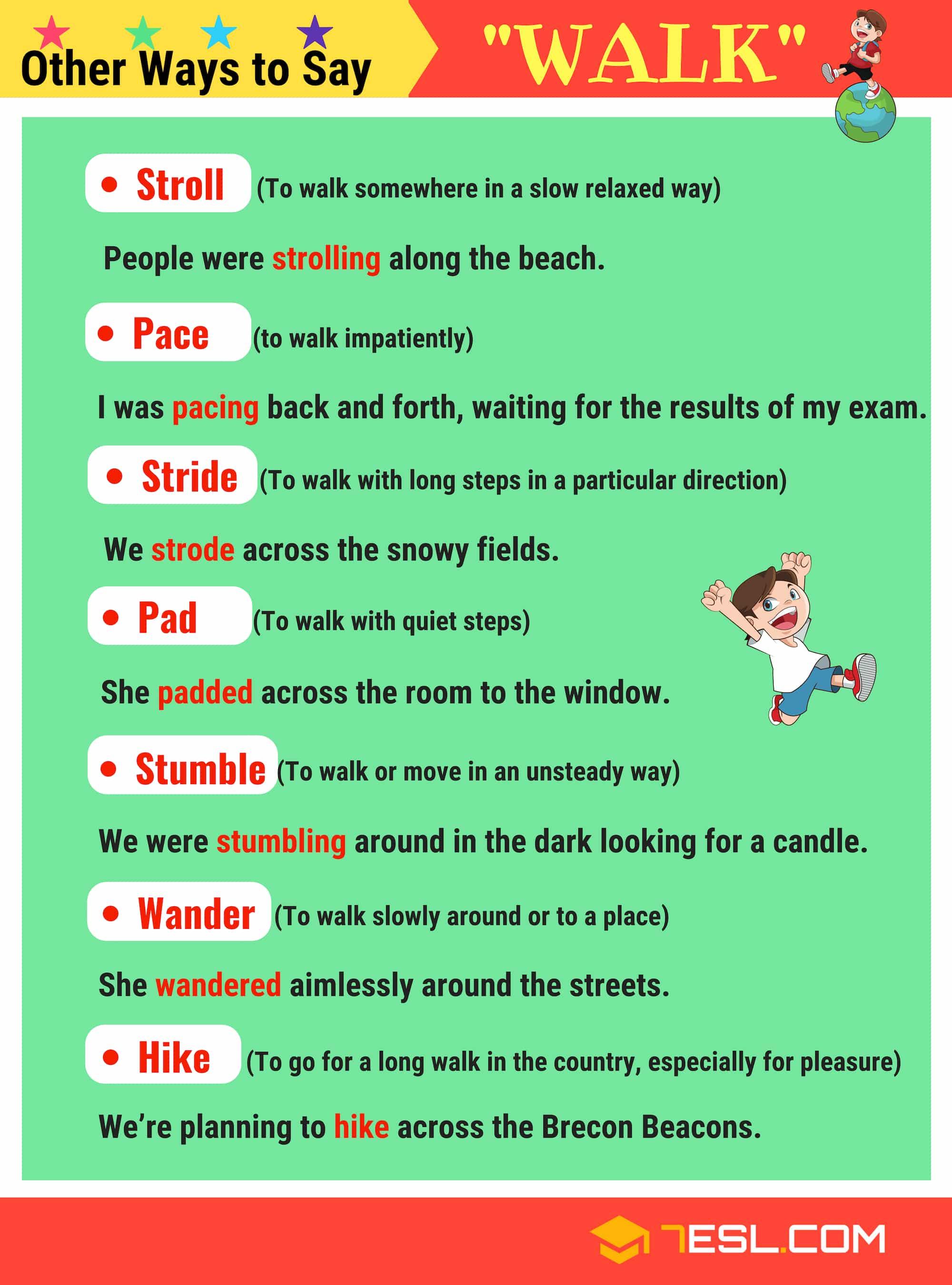 walk synonyms 21 synonyms