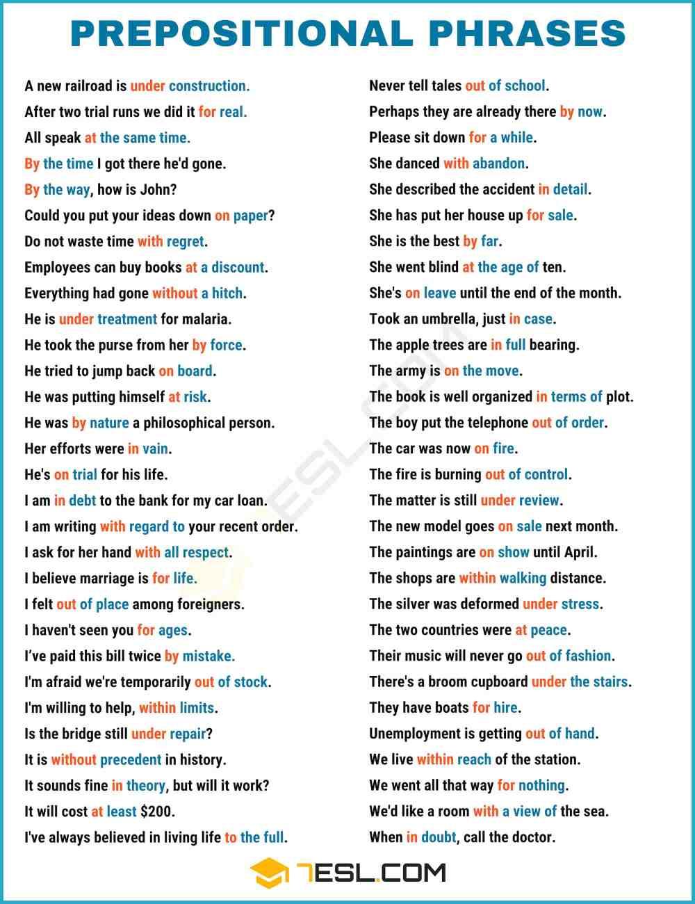 medium resolution of Prepositional Phrase: Definition