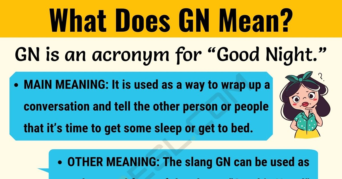 gn meaning what does