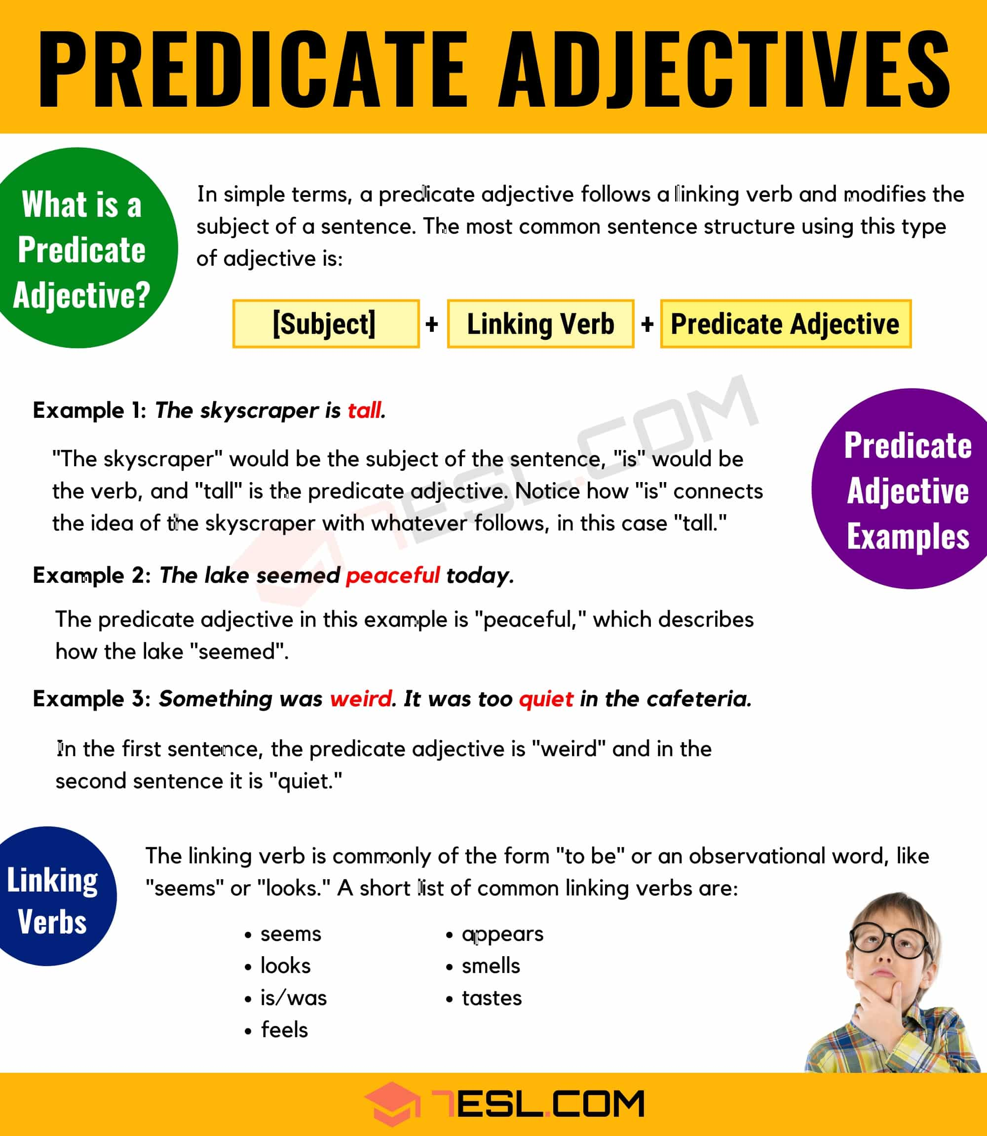 What Is A Predicate Adjective Useful Predicate Adjective