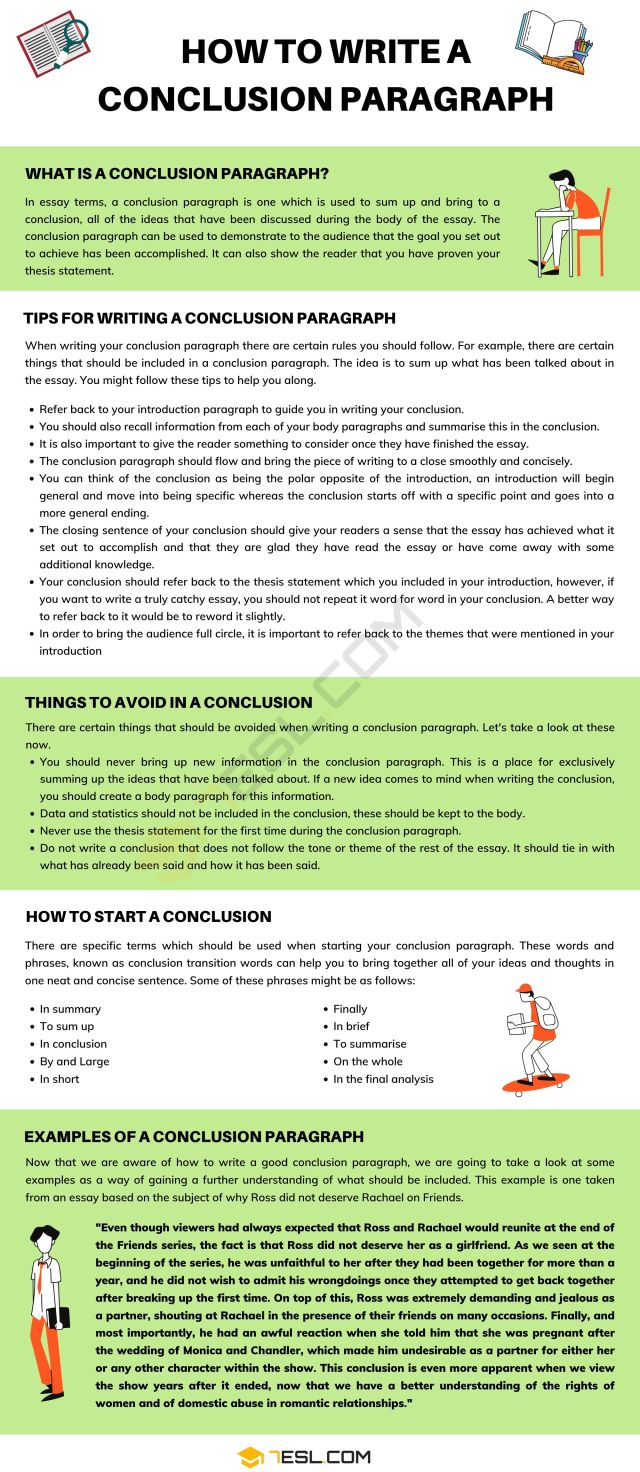 Conclusion Paragraph  How To Write A Conclusion Paragraph with
