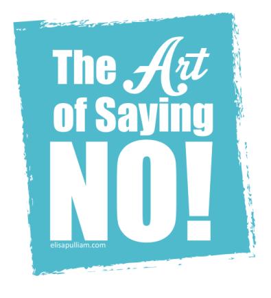 說不的藝術2