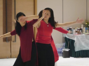 脈輪舞蹈 上海課程紀錄照 2