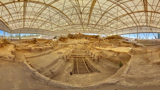 excavation-shelter-catalhoyuk