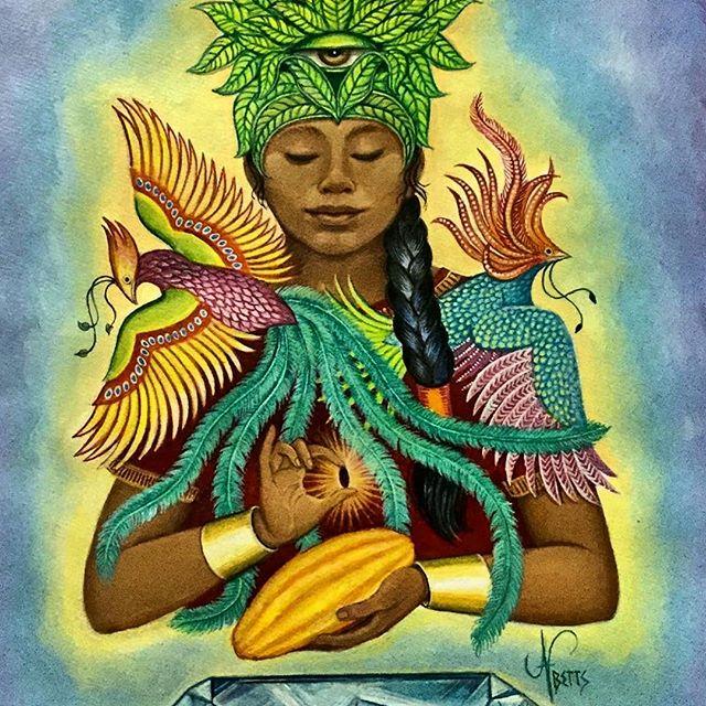 cacao goddess