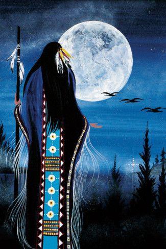 shaman full moon